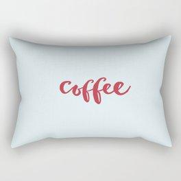 RED COFFEE Rectangular Pillow