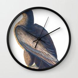 Bird Of Washington Illustration Wall Clock
