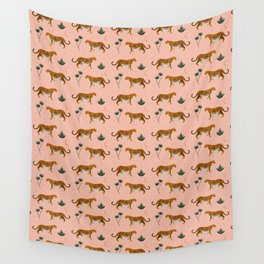 Big Cat pattern Softpink Wall Tapestry