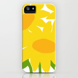 Yellow Green Good Cheer iPhone Case