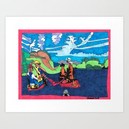 Yukon Tranquility Art Print