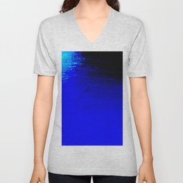 Moon Casting in to the Sea Unisex V-Neck