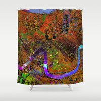 new orleans Shower Curtains featuring new orleans by donphil