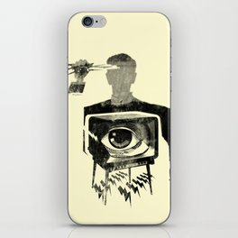 HYPODERMIC NEEDLE THEORY iPhone Skin