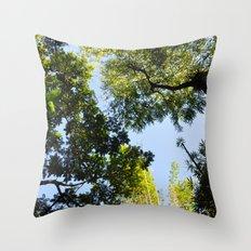 Canopy I Throw Pillow