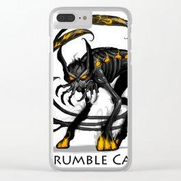 Brumble Cat Clear iPhone Case