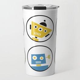 Robot Friends Travel Mug