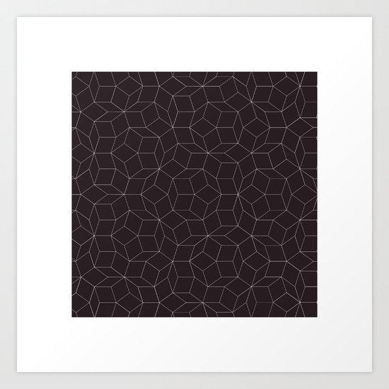 #41 Hello Mr Penrose, I'm your biggest fan. – Geometry Daily Art Print
