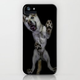 Husky from underneath iPhone Case