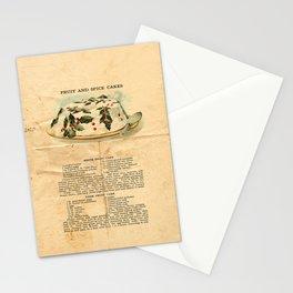 Fruit Cakes - Vintage Stationery Cards