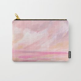 Pink Skies - Tropical Sunset Seascape Carry-All Pouch