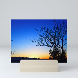 View From The Top (of The Great Wall of China) Mini Art Print