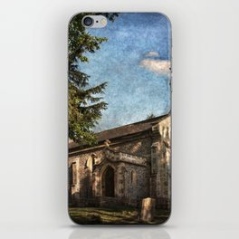 St Nicholas Church Sulham iPhone Skin