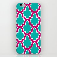 moroccan iPhone & iPod Skins featuring Moroccan by Farah Saheb