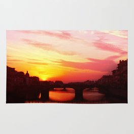 Sunset in Florance.  Rug