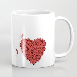 Valentine's Heart Coffee Mug