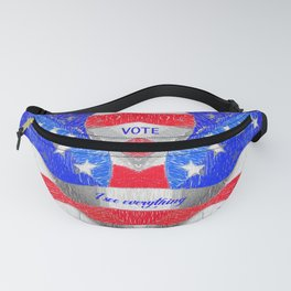 Wake up America Fanny Pack