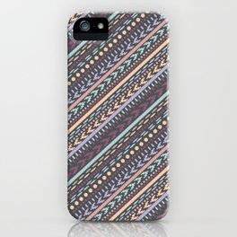 Barcelona Stripes iPhone Case