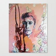 James Franco Canvas Print