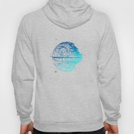 Death Star Blueprint. Hoody