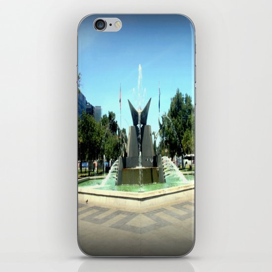 Victoria Square Fountain - Adelaide iPhone & iPod Skin
