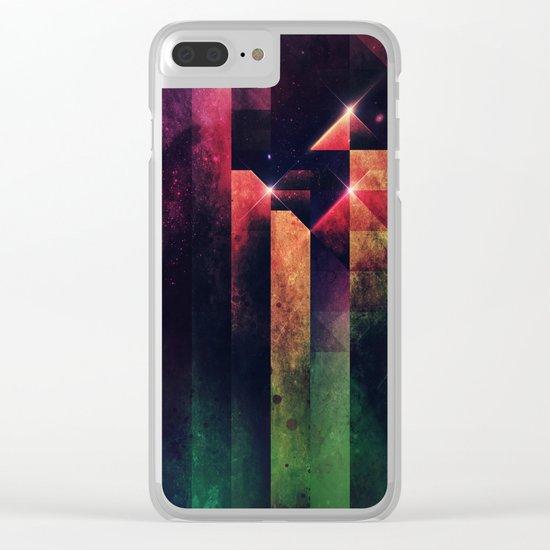 slyyd dwwn Clear iPhone Case