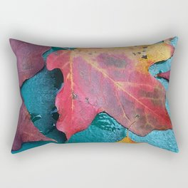 WithrowLeaves Rectangular Pillow