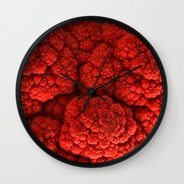 Cauliflower Kiss Wall Clock
