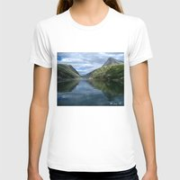 norway T-shirts featuring Rondane - Rondevannet  Norway by AstridJN