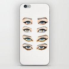 Glitter Eye Lines iPhone & iPod Skin