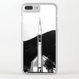 Fassa Church Clear iPhone Case