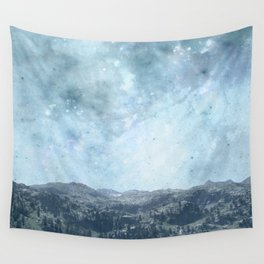 Mystic Mountains Wall Tapestry