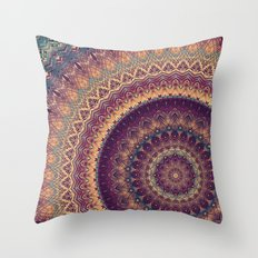 Mandala 541 Throw Pillow