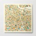 Amsterdam Map by jazzberryblue