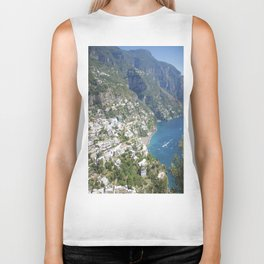 Photo seascape Amalfi Coast Italy Biker Tank
