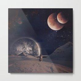 My planet Metal Print