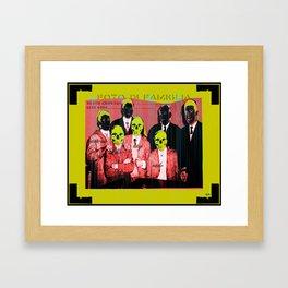 foto di famiglia Framed Art Print