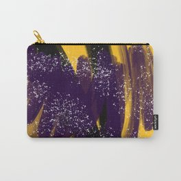 Abstract Yellow June 2016 Carry-All Pouch