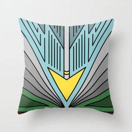Broken Morning Throw Pillow