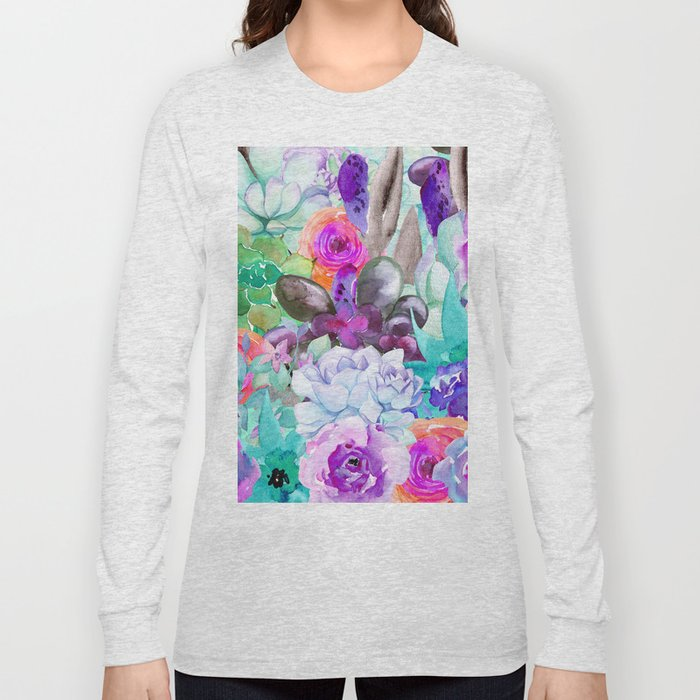 spring pastels Long Sleeve T-shirt