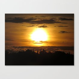 Dawn of Time Canvas Print