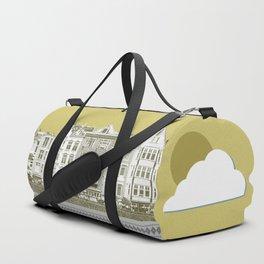 Yellow city Duffle Bag
