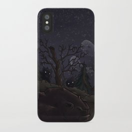 I was too fond of the stars iPhone Case