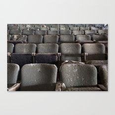 Theater Seats Canvas Print