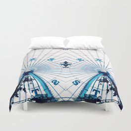 Two Alone Duvet Cover