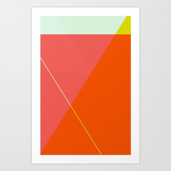 ‡ T x T ‡ Art Print