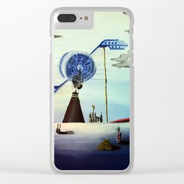 Prayer to Technology Clear iPhone Case