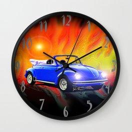 70 Super Bug convertible Wall Clock