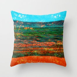 Western Slope Throw Pillow