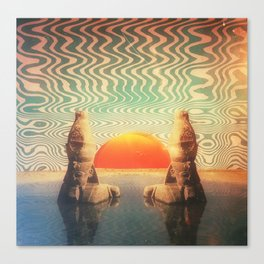 Horus of the Horizon Canvas Print